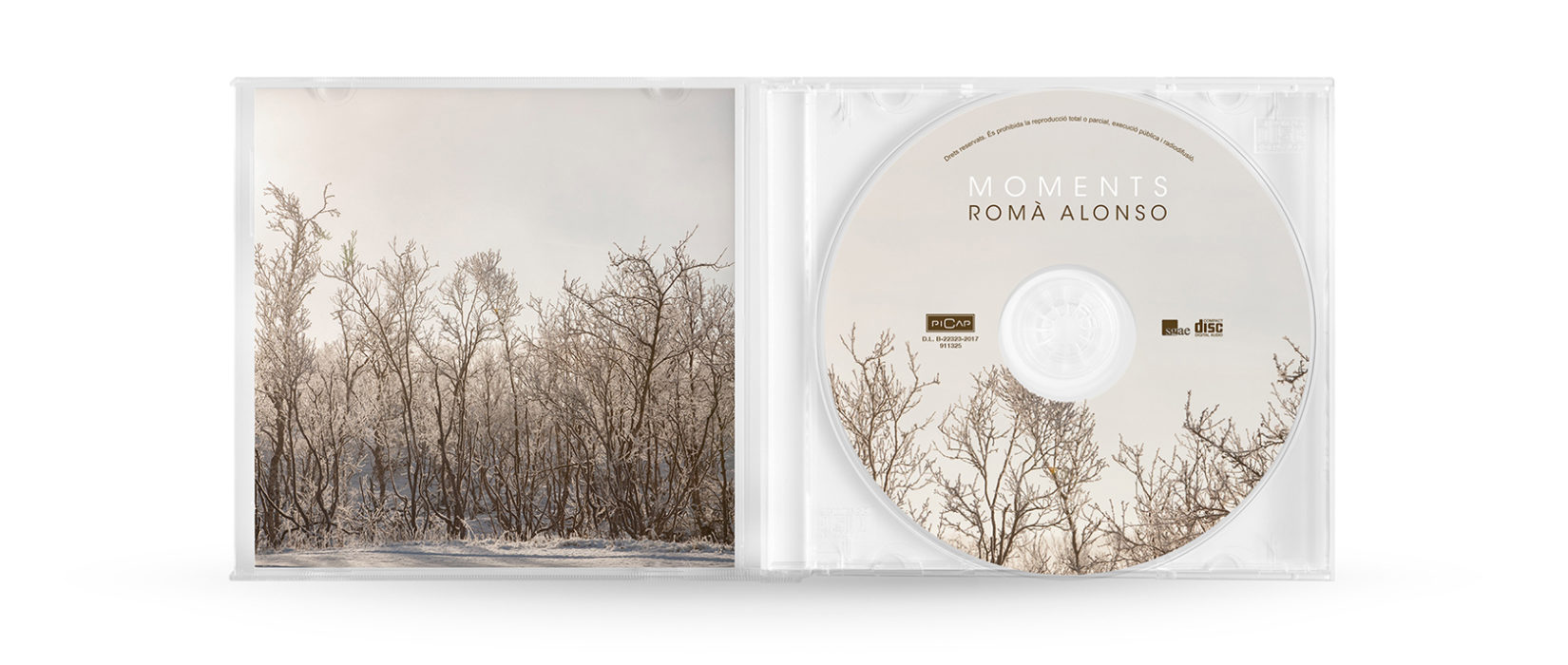ROMÀ ALONSO. INTERIOR CD.